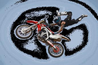 MotorcrosserMX1 decoratif