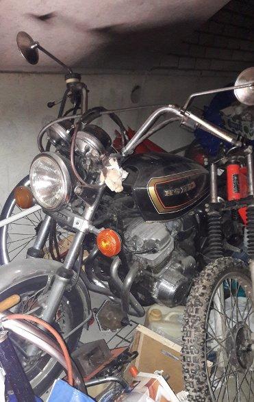 Schuurvondst Nette Honda CB 750 K7