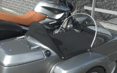 BMW motorfiets met zijspan